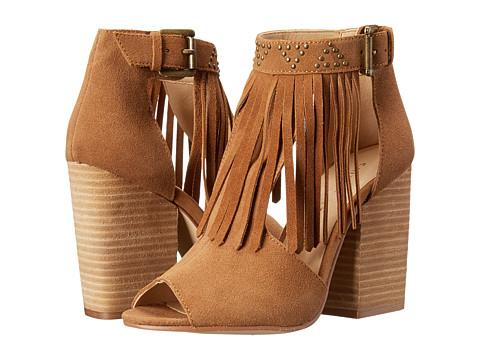 Chinese Laundry - Boho Fringe Bootie (Camel) High Heels