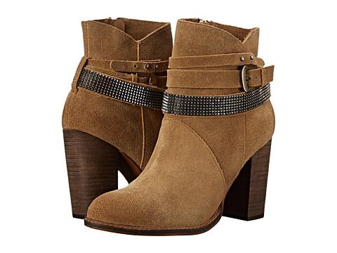 Chinese Laundry - Zanga (Camel) Women's Zip Boots