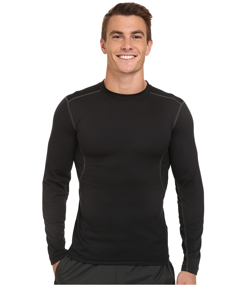 Terramar - TXO 1.0 Long Sleeve Crew (Carbon/Grey Stitching) Men's Long Sleeve Pullover