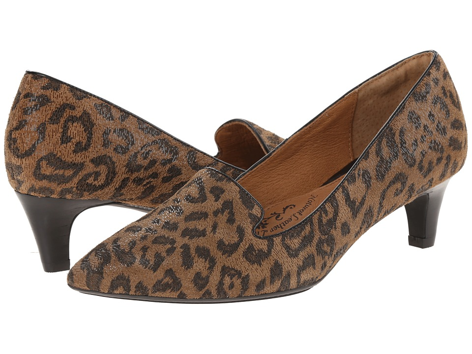 Sofft - Vesper (Desert Tan Leopard Hair Foil Suede) Women's Shoes
