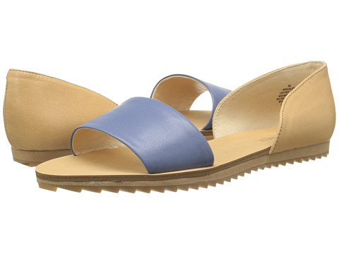 Nine West - Qualify (Blue/Natural Leather) Women's Sandals