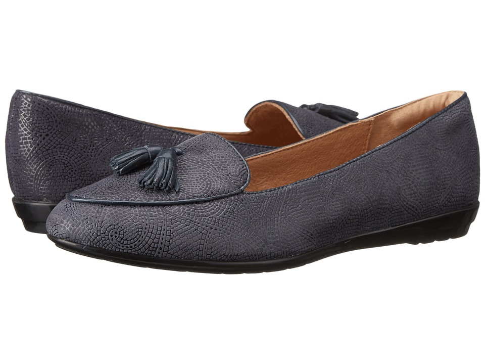 Sofft - Bryce (Navy Paisley Suede) Women