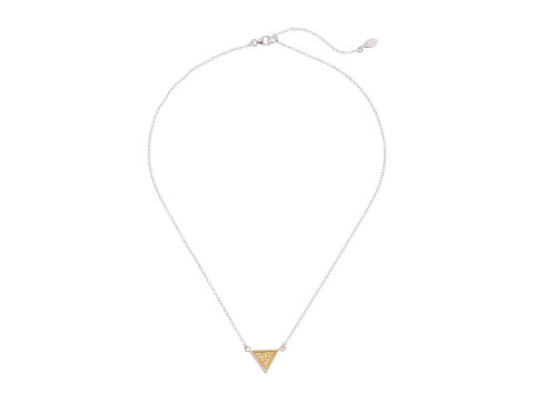 Anna Beck - Small Reversible Triangle Necklace (Sterling Silver w/ 18K Gold Vermeil) Necklace