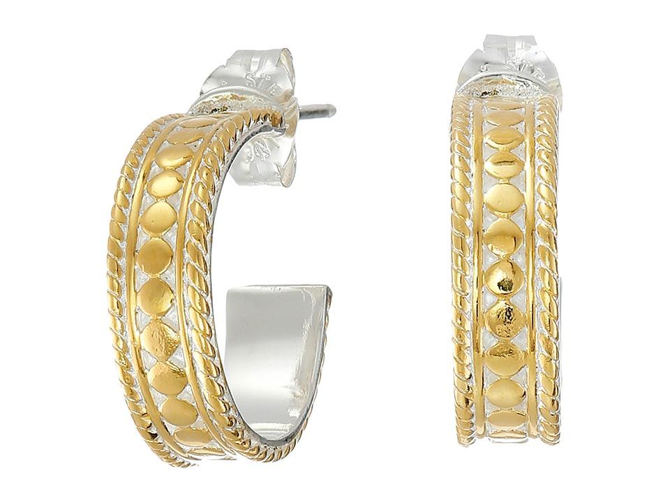 Anna Beck - Mini Hoop (Sterling Silver w/ 18K Gold Vermeil) Earring