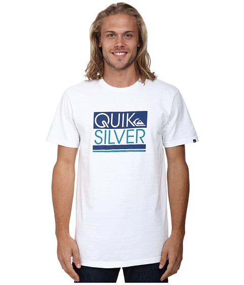 Quiksilver - Crane Screen Tee (White) Men's T Shirt