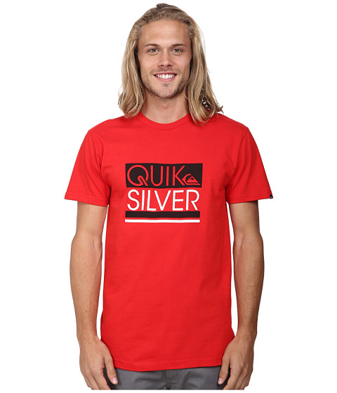Quiksilver - Crane Screen Tee (Quik Red) Men's T Shirt
