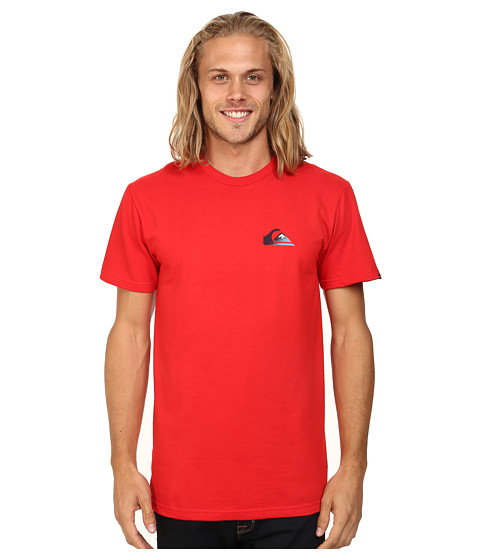Quiksilver - Grady Screen Tee (Quik Red) Men's T Shirt