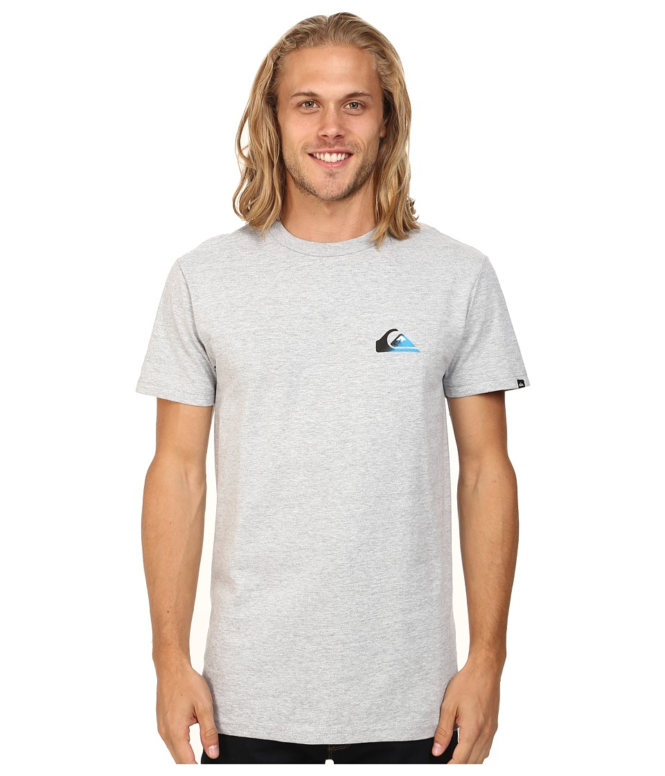 Quiksilver - Grady Screen Tee (Athletic Heather) Men's T Shirt
