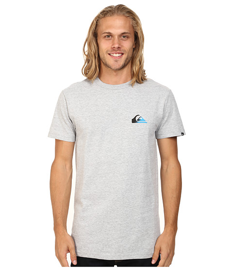 Quiksilver - Grady Screen Tee (Athletic Heather) Men