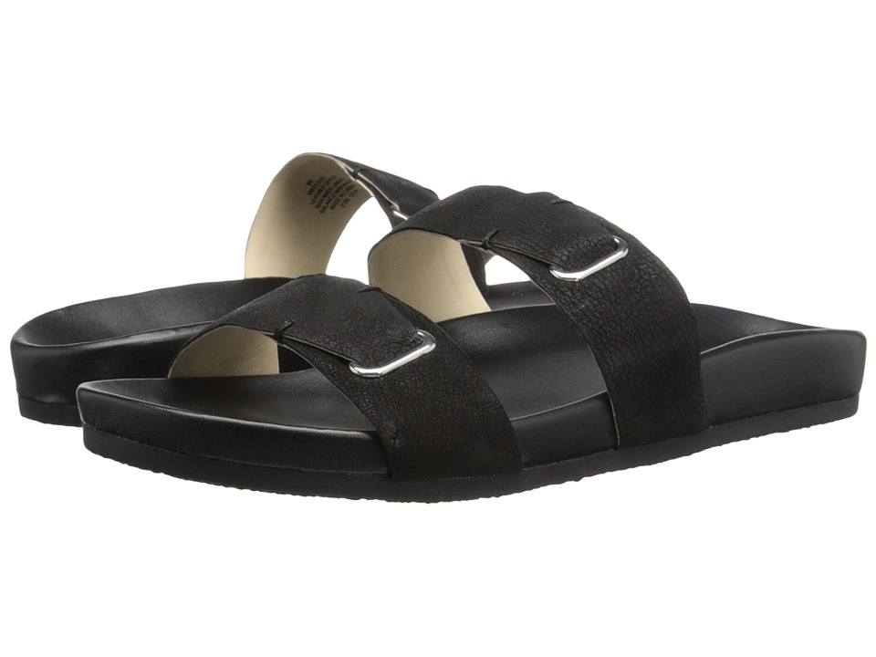 Nine West - Zedge (Black Nubuck) Women's Sandals
