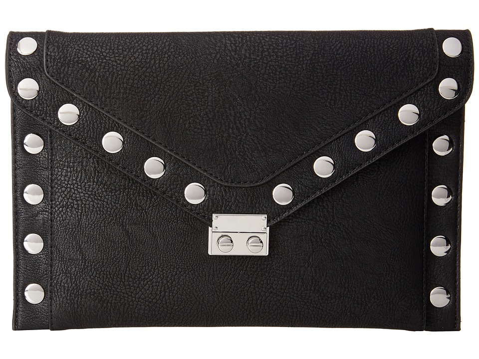 BCBGeneration - Studded Clutch (Black) Clutch Handbags