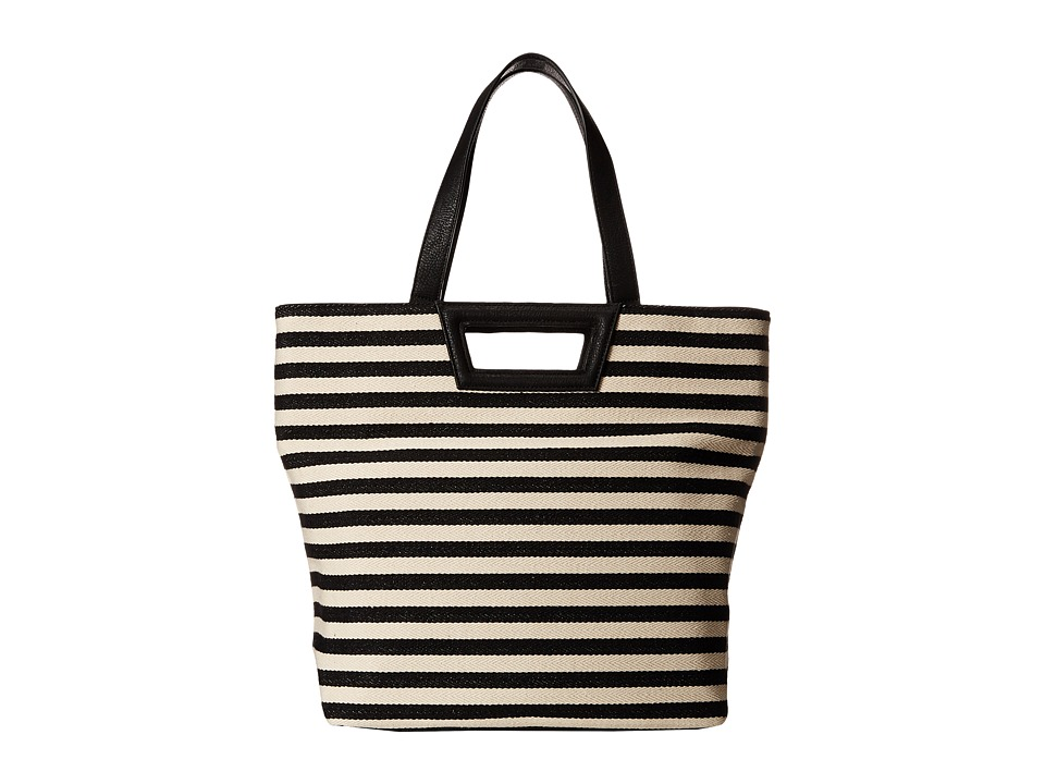BCBGeneration - Tote (Black/Natural Combo) Tote Handbags