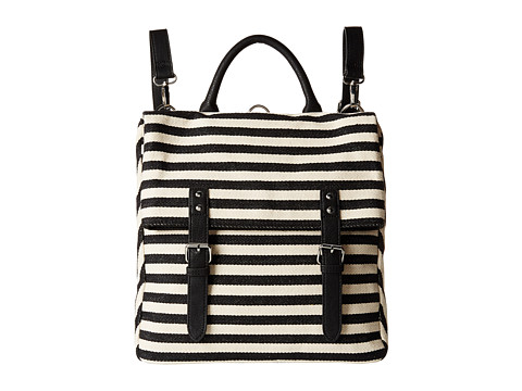 BCBGeneration - The Drifter Bag (Black/Natural Combo) Handbags