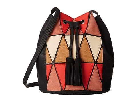 BCBGeneration - La Vie Boheme Patchwork (Sea Coral Combo) Handbags