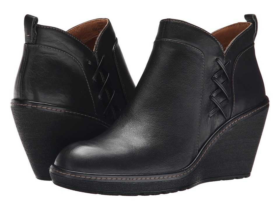 Sofft - Carminda (Black Cow Messa) Women's Boots