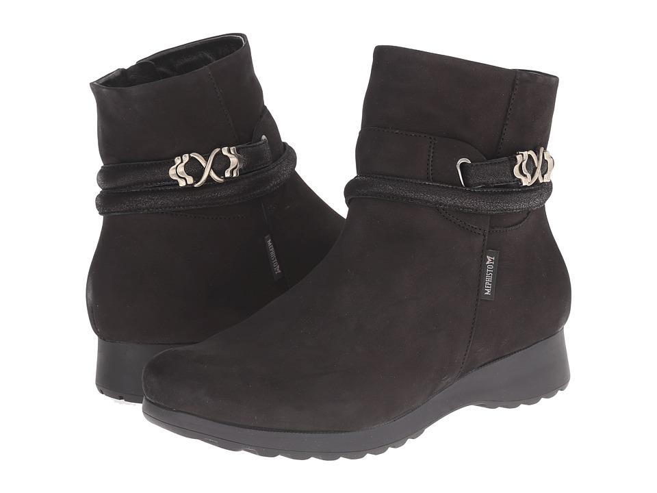 Mephisto - Azzura (Black) Women's Shoes