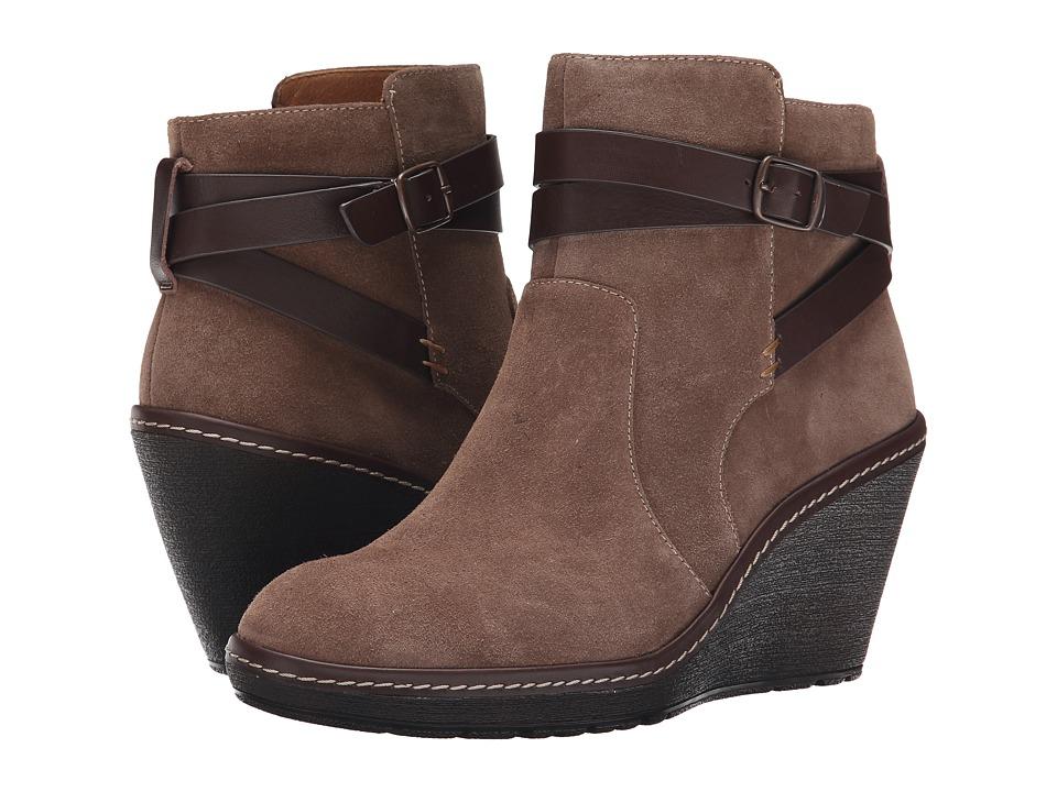Sofft - Caralee (Havana Brown Alaska Suede) Women's Boots