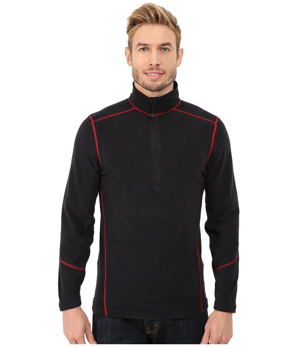 Terramar - TXO 2.0 1/2 Zip (Carbon/Imperial Stitching) Men's Long Sleeve Pullover