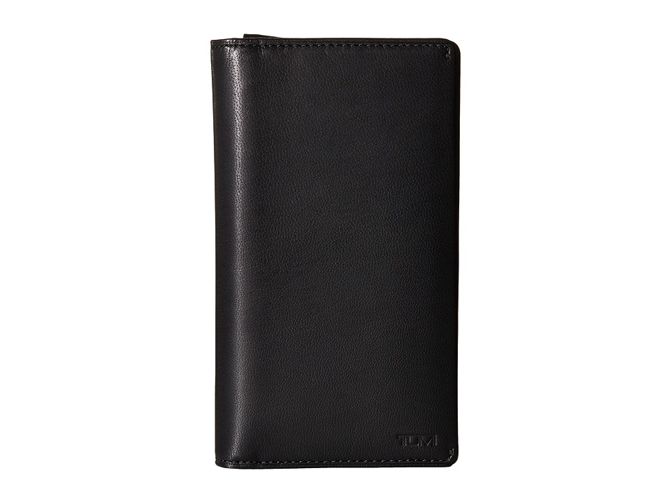 Tumi - Chambers Large Tech Wallet (Black) Bill-fold Wallet