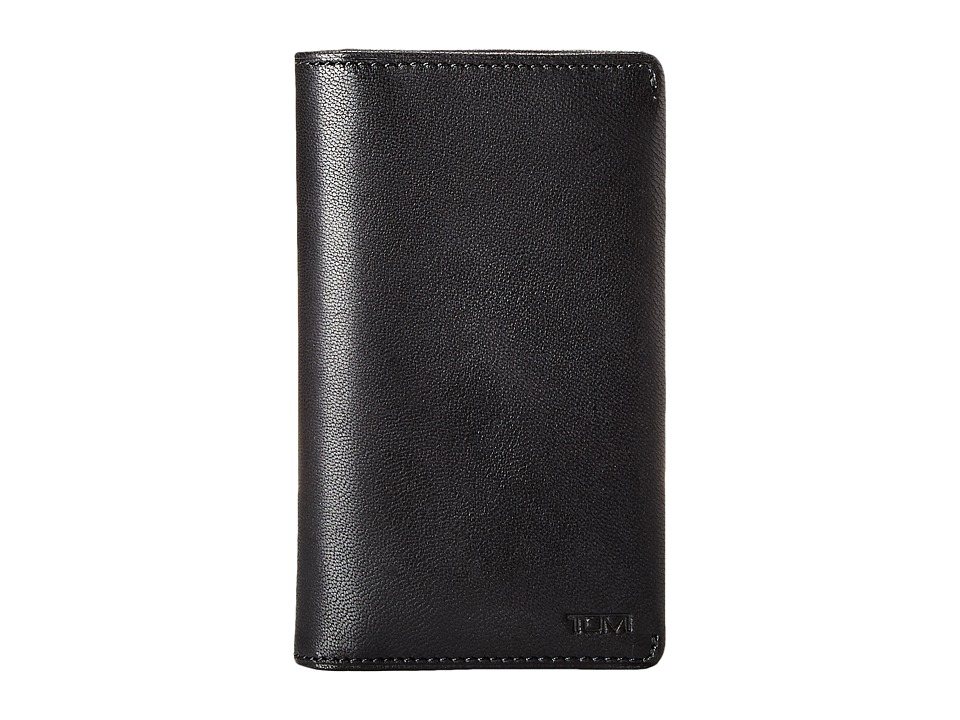 Tumi - Chambers Small Tech Wallet (Black) Bill-fold Wallet