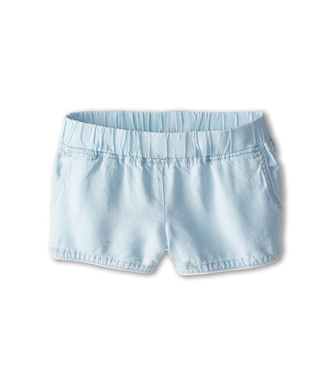Blank NYC Kids - Elastic Band Light Wash Shorts in Sugar Lips (Big Kids) (Sugar Lips) Girl