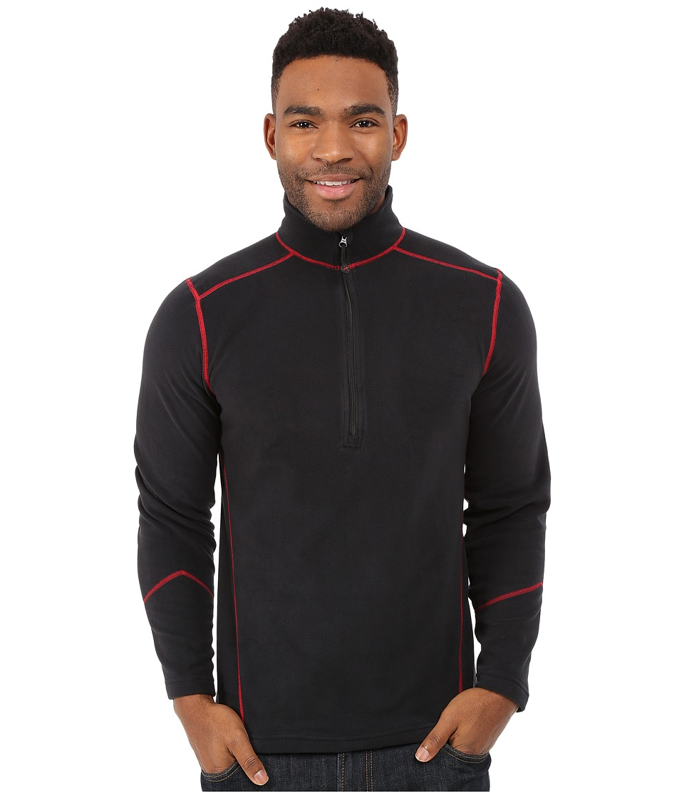 Terramar - TXO 3.0 1/2 Zip (Carbon/Chili Stitching) Men's Sweatshirt