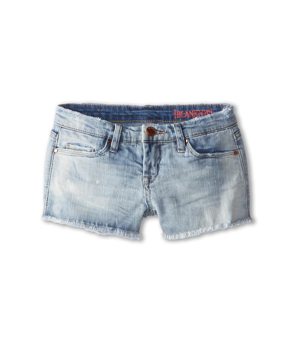 Blank NYC Kids - Light Denim Shorts in Shibby (Big Kids) (Shibby) Girl