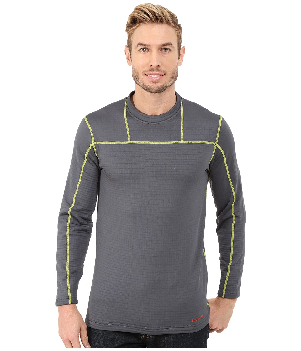 Terramar - Ecolator Long Sleeve Crew (Smoke) Men's Long Sleeve Pullover
