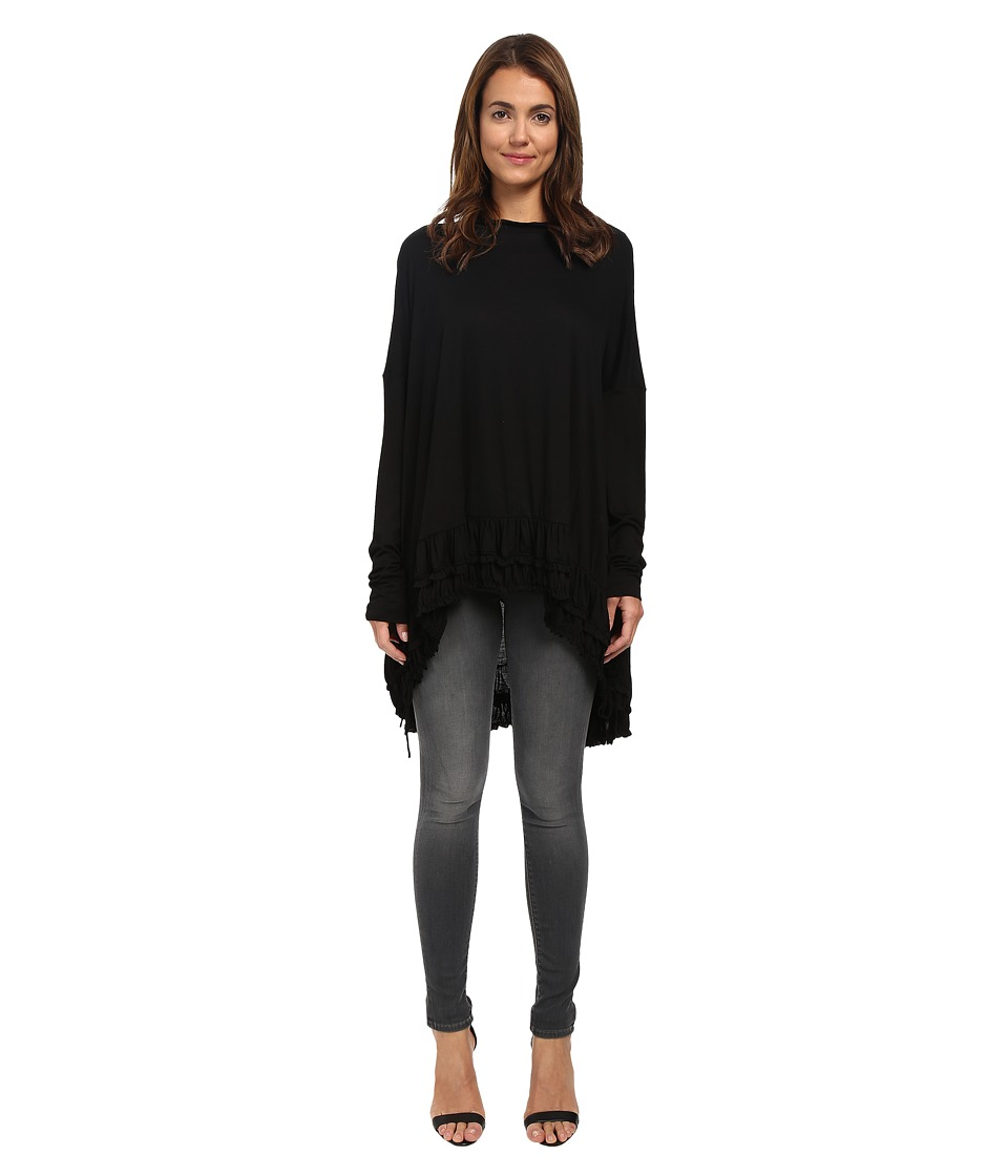 Vera Wang - Dolman Sleeve Top (Black) Women's Blouse