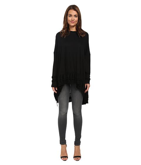 Vera Wang - Dolman Sleeve Top (Black) Women