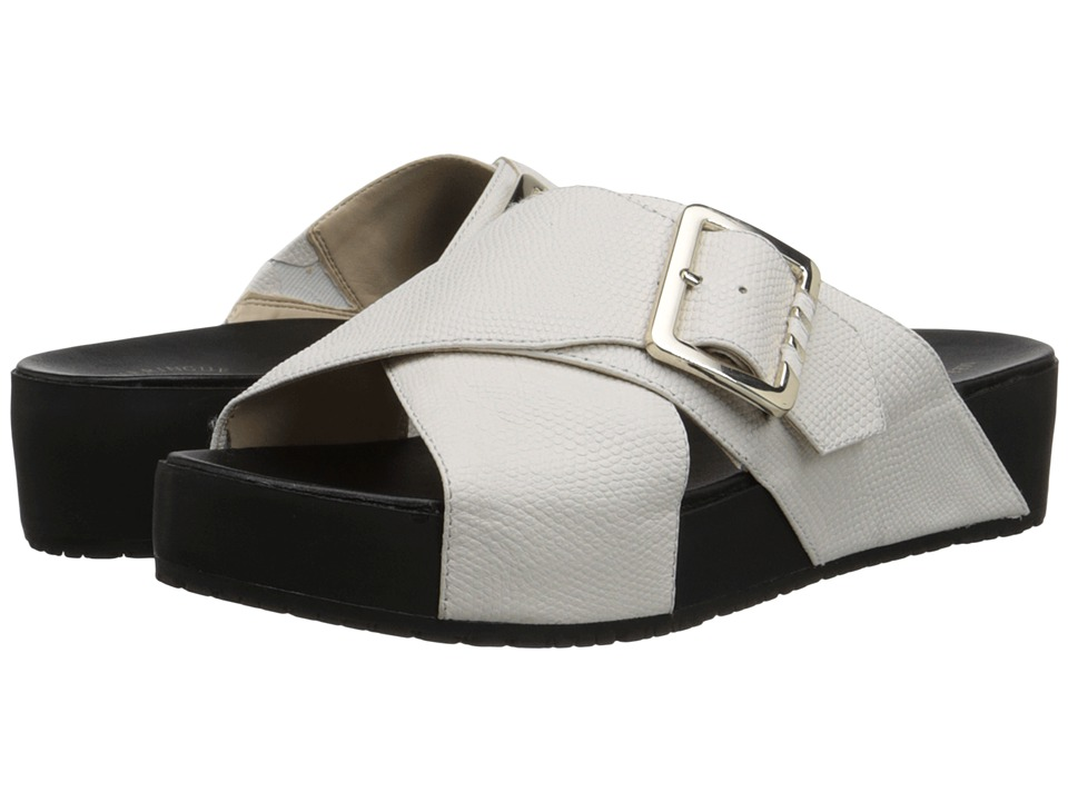 Dr. Scholl's - Flight Original Collection (Gardenia/Black) Women's Sandals