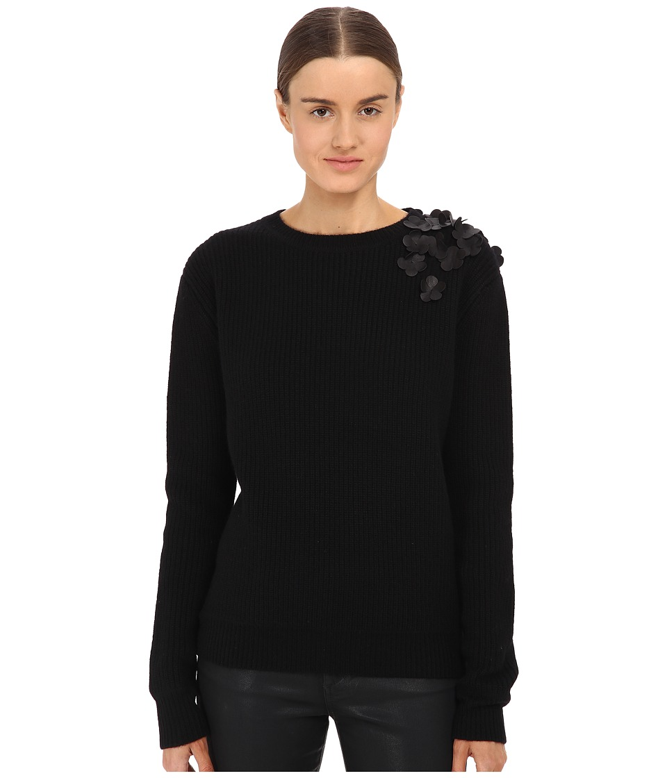 Vera Wang - Alba Soft Pullover (Black) Women's Sweater