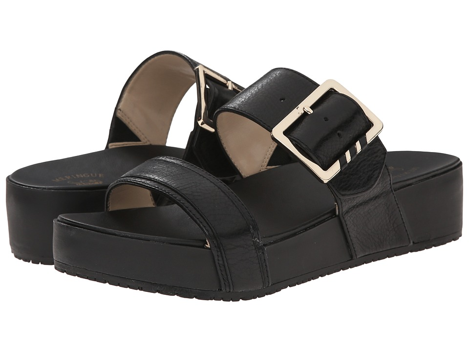 Dr. Scholl's - Frill - Original Collection (Black/Black) Women's Sandals
