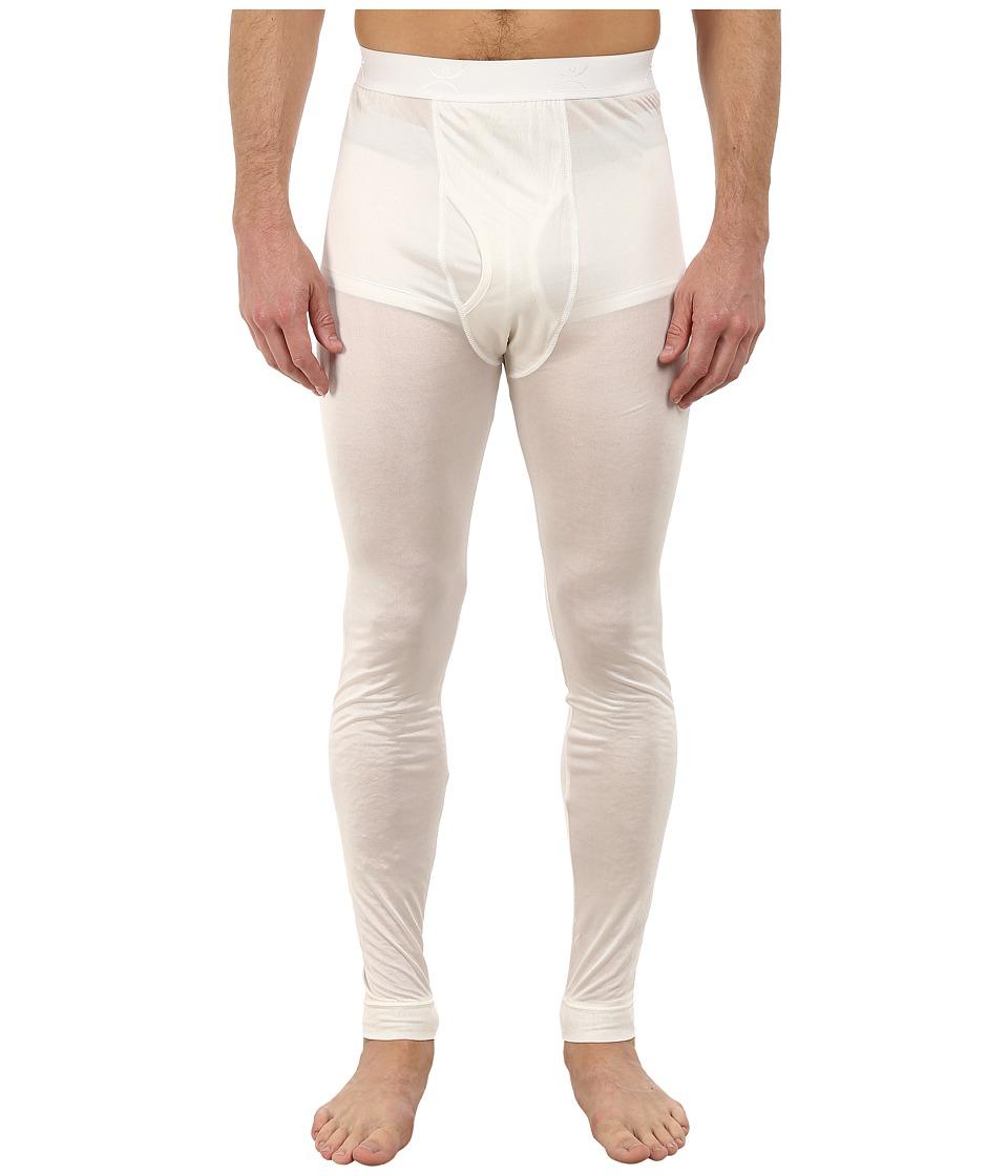 Terramar - Thermasilk Jersey Pants (Natural) Men's Clothing