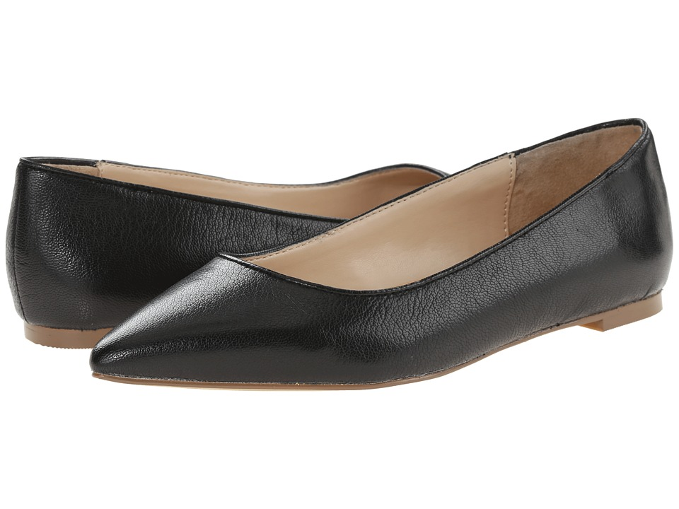 Dr. Scholl's - Tenacious - Original Collection (Black Leather) Women's Flat Shoes