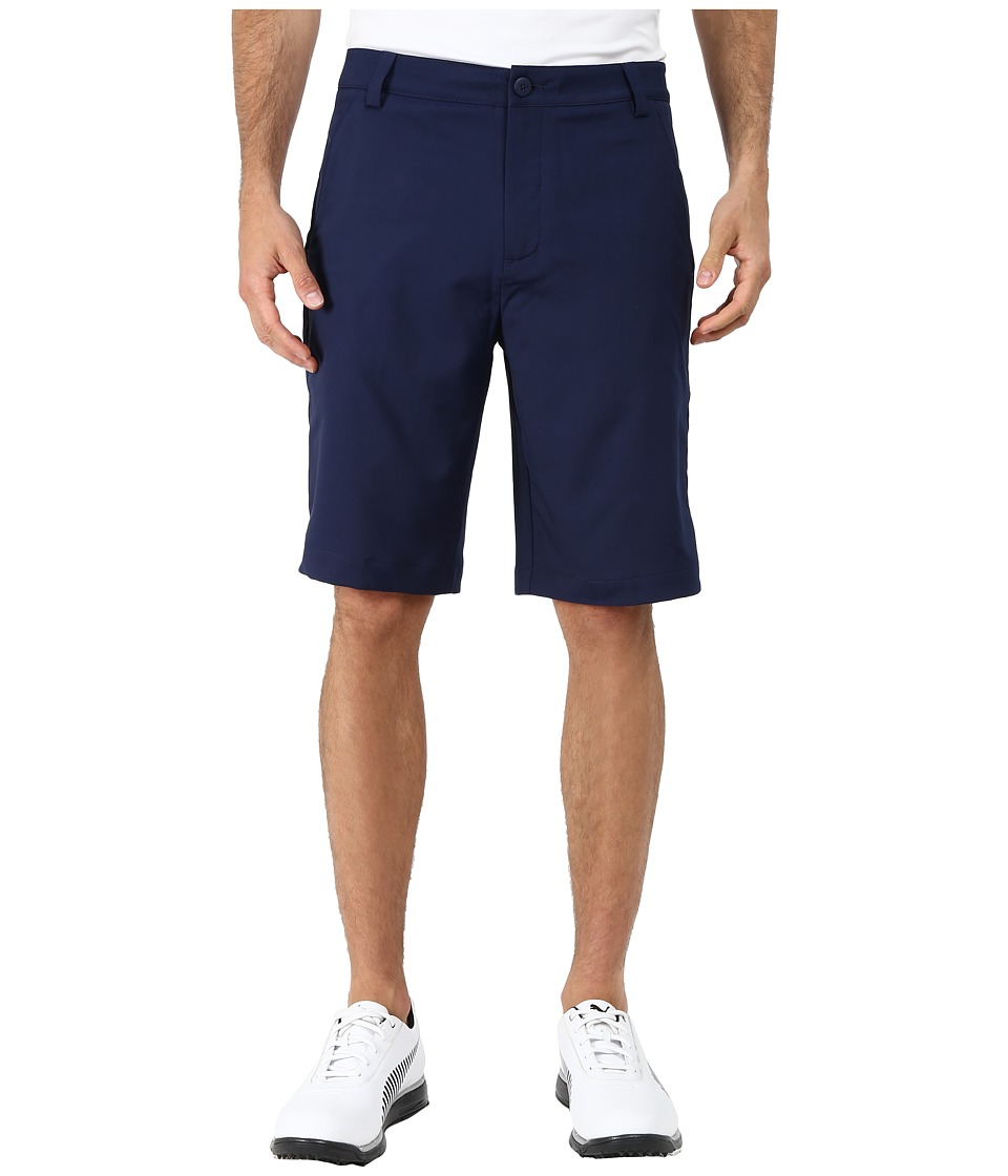 PUMA Golf - Golf Solid Tech Short '16 (Peacoat) Men's Shorts