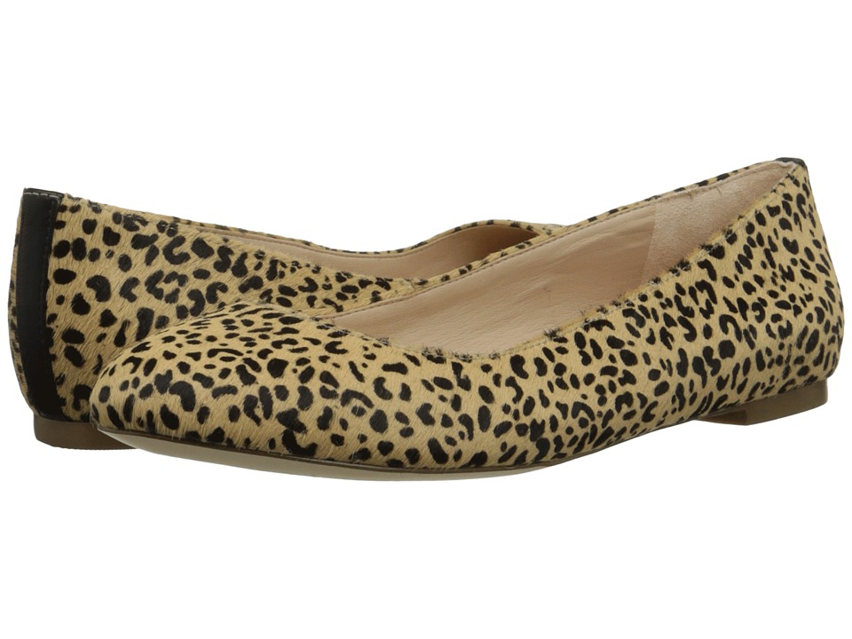 Dr. Scholl's - Vixen - Original Collection (Tan/Black Pony) Women's Flat Shoes