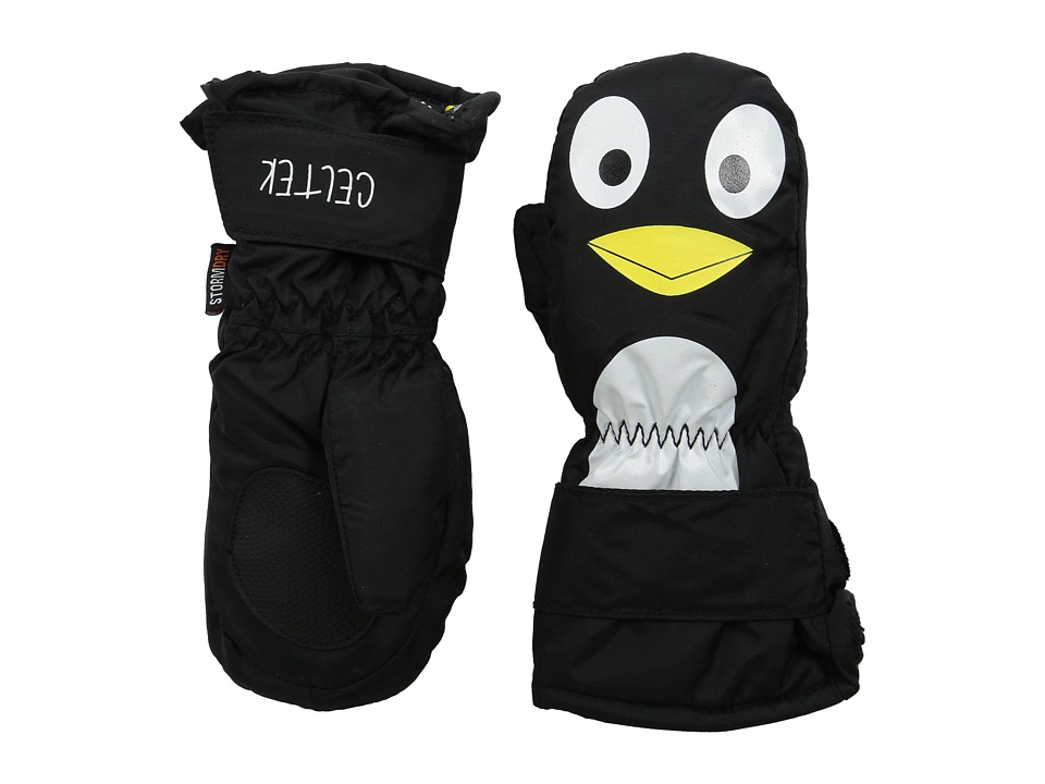 Celtek - Superstar Mitten (Toddler) (Penguin) Over-Mits Gloves