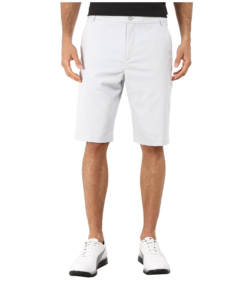 PUMA Golf - Lux Tech Shorts (Grey Dawn) Men's Shorts