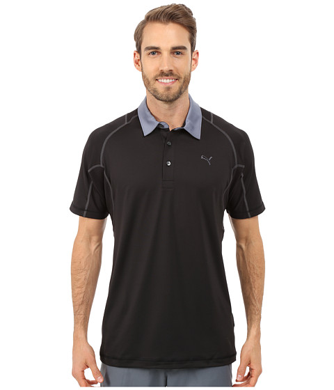 PUMA Golf - Titan Tour Polo (PUMA Black) Men