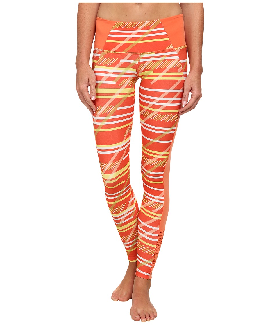 COZY ORANGE - Juno Fitted Pants (Serenity Stripe/Papaya) Women