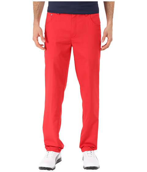 PUMA Golf - Golf Tech 6-Pocket Pant '15 (Tango Red) Men's Casual Pants