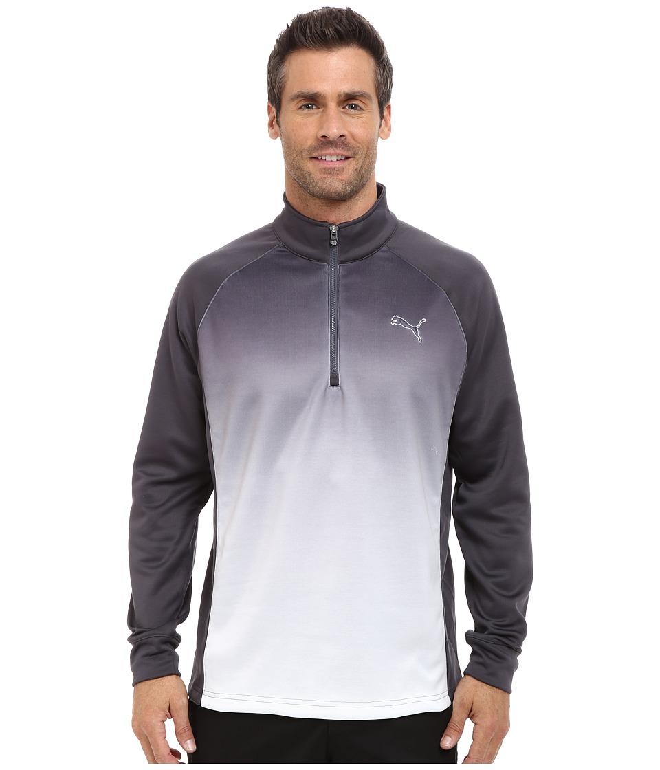 PUMA Golf - #GOTIME Fade 1/4 Zip Popover (Periscope) Men's Sweatshirt