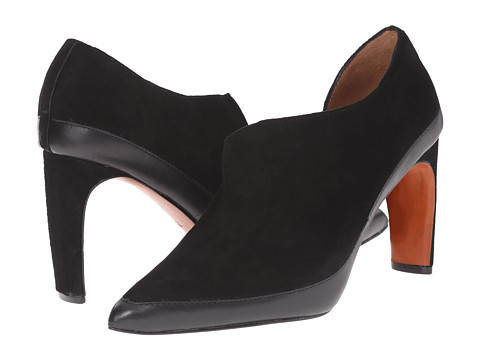 10 Crosby Derek Lam - Rayen (Black Fine Suede/Baby Calf) Women's Shoes