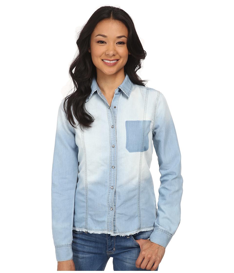 Billabong - Spring Blues Top (Light Well Worn) Women's Clothing