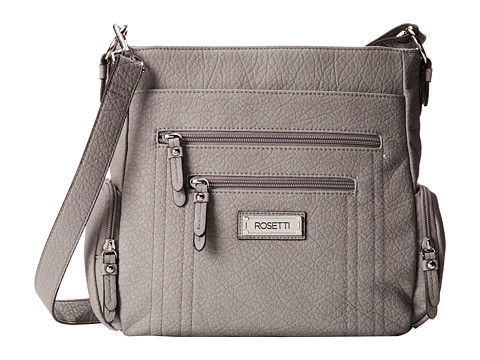 Rosetti - Out Of Bounds Convertible Hobo (Husky Grey) Hobo Handbags