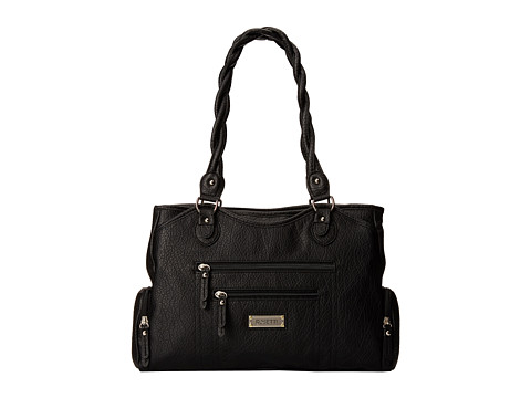 Rosetti - Out Of Bounds Double Handle (Black) Handbags