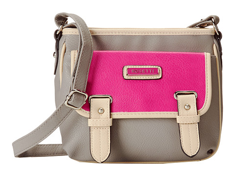 Rosetti - Hayden Triple Play Crossbody (Husky Grey Color Block) Cross Body Handbags