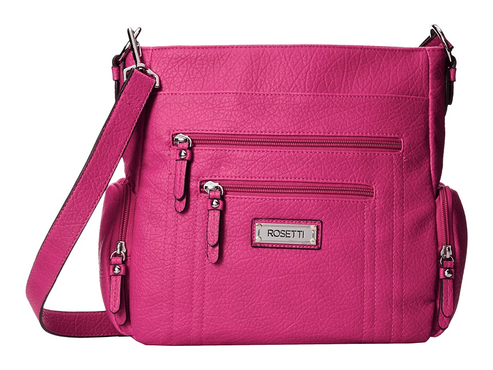 Rosetti - Out Of Bounds Convertible Hobo (Pop Pink) Hobo Handbags