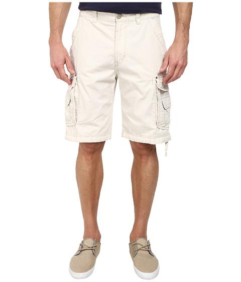 UNIONBAY - Cordova Belted Cargo Shorts (Stone 1) Men's Shorts
